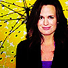 Elizabeth Reaser Foto possibly with a parasol, a portrait, and Anime titled Liz.