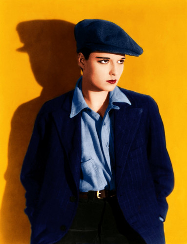Louise Brooks in Colour