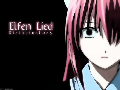 Elfen Lied fondo de pantalla called Lucy/Nyu