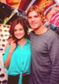 Lucy and Chris at the Chilli Beans Sunglasses L.A. (18.04.12) - chris-zylka-and-lucy-hale photo