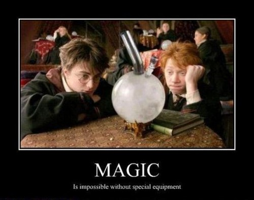 MAGIC: is impossible without magic equiptment