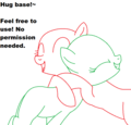 MLP Hug Base!~