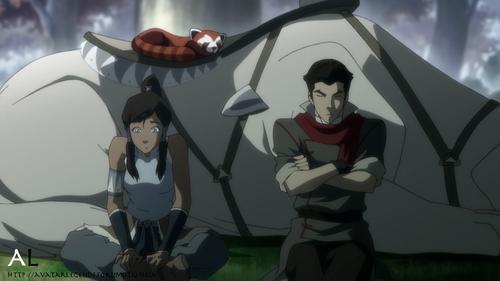 Mako and Korra