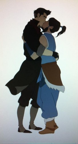 Makorra: The One and Only wallpaper called Makorra kiss