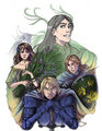 Margaery, Renly, Loras & Brienne - house-baratheon fan art