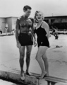 Marilyn Monroe and Cary Grant (Monkey Business).