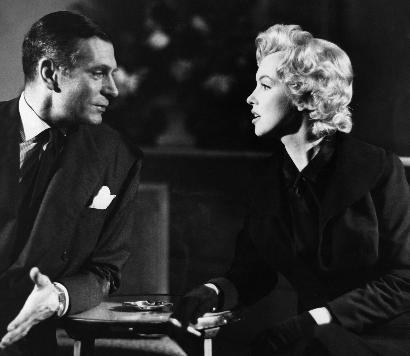 Marilyn Monroe and Laurence Olivier (The Prince and the Showgirl)