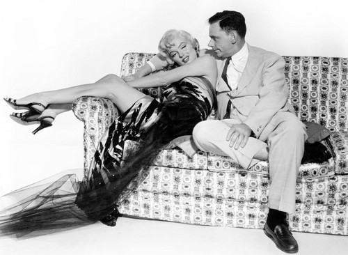 Marilyn Monroe and Tom Ewell (Seven an Itch, The)
