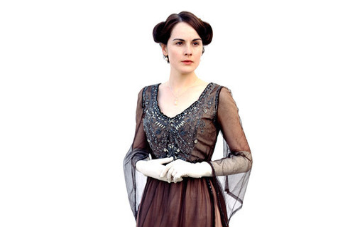 Lady Mary Crawley wallpaper probably with a polonaise, a dinner dress, and a gown called Mary <3