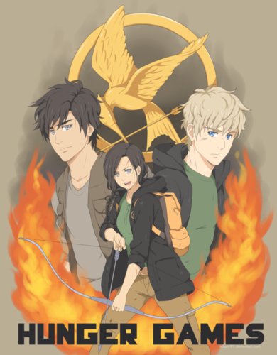 May the Odds Be Ever in Your Favor - the-hunger-games Fan Art