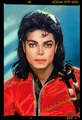 Michael Jackson holographic Label Photo 1990