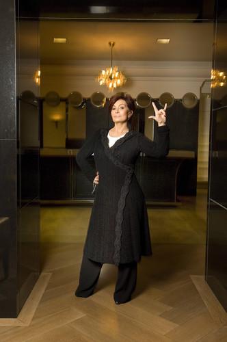 Michael Sofronski Photoshoot at a London Hotel