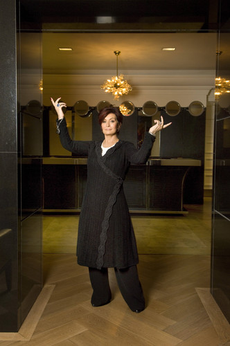 Michael Sofronski Photoshoot at a London Hotel