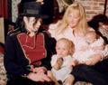 Michael and his family at Neverland.