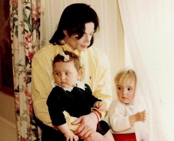 Michael, Prince and Paris.