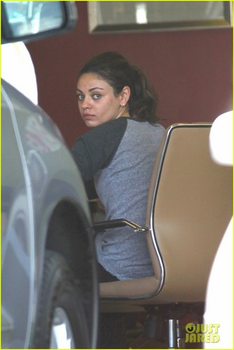 Mila Kunis & Ashton Kutcher Not Dating, Just Friends - mila-kunis Photo