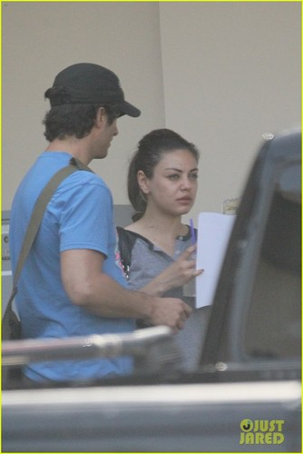 Mila Kunis &amp; Ashton Kutcher Not Dating, Just Friends - mila-kunis Photo