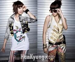 Minzy and CL