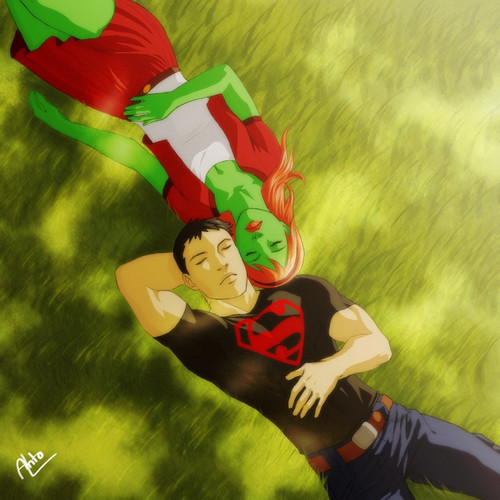 Miss Martian Superboy - 07