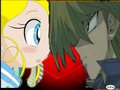 Miyako looks at Joey - powerpuff-girls-z photo