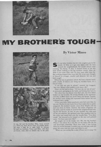 My Brother's Tough oleh Victor Mineo