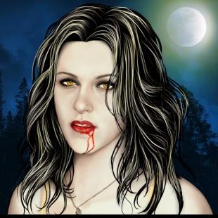 My Fanmade bella cullen (Vampire)