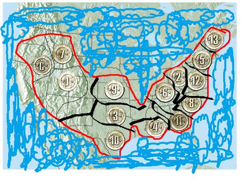 My Panem Map
