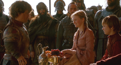 Myrcella and Tommen with Tyrion - house-baratheon Photo