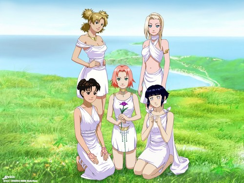 N GIRLS - naruto-women Photo