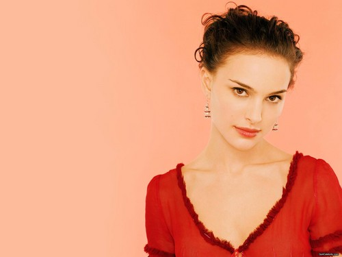 natalie portman wallpaper probably containing a blouse, a coquetel dress, and a portrait entitled Natalie Portman