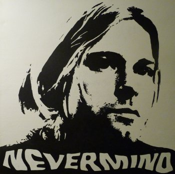 Kurt Cobain wallpaper entitled Nevermind