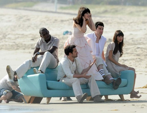New Girl cast <3