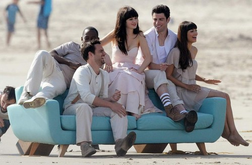 New Girl cast photoshoot <3