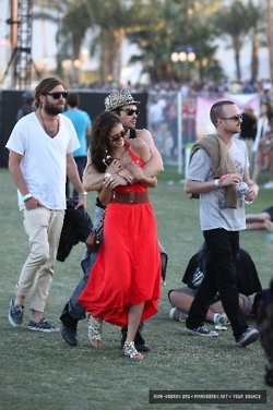 Nian at Coachella!