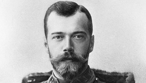 Nicholas II of Russia (18 May [O.S. 6 May] 1868 – 17 July 1918)