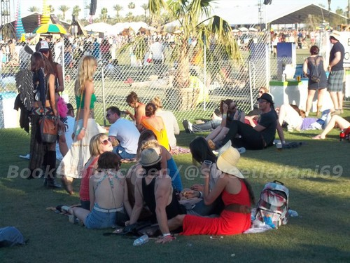 Nina and Ian at Coachella 日 Three