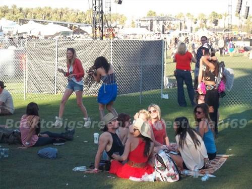 Nina and Ian at Coachella giorno Three
