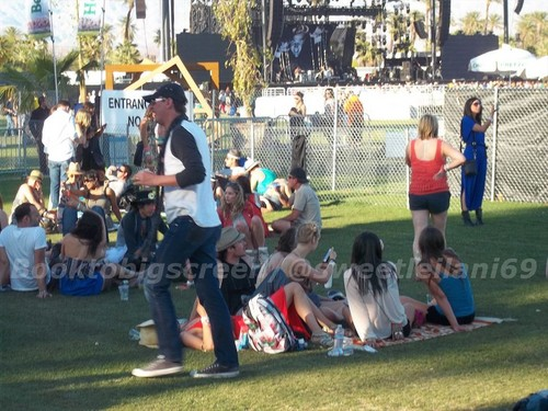 Nina and Ian at Coachella দিন Three