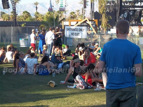 Nina and Ian at Coachella siku Three