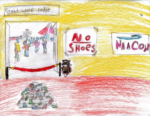 Nma con no shoes!