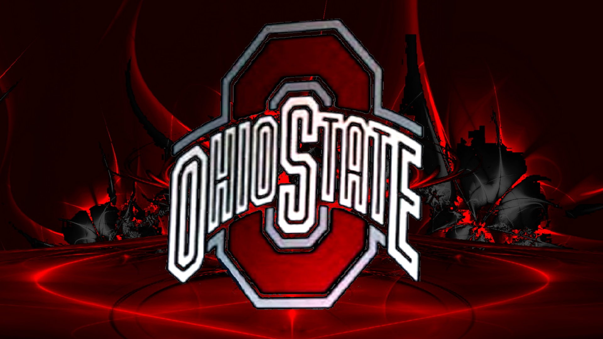 Ohio State Buckeyes images OHIO STATE RED BLOCK O ON AN ...