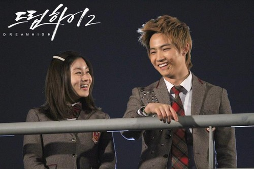 Dream High 2 fond d'écran entitled Official Picz