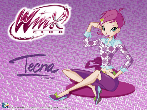 Official wallpaper 2012 Tecna City girl