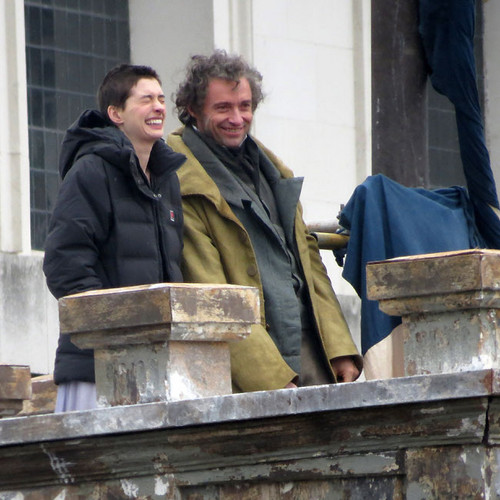 On the Set of Les Miserables (18th April)