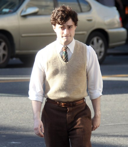 On the set of «Kill Your Darlings» - April 17, 2012