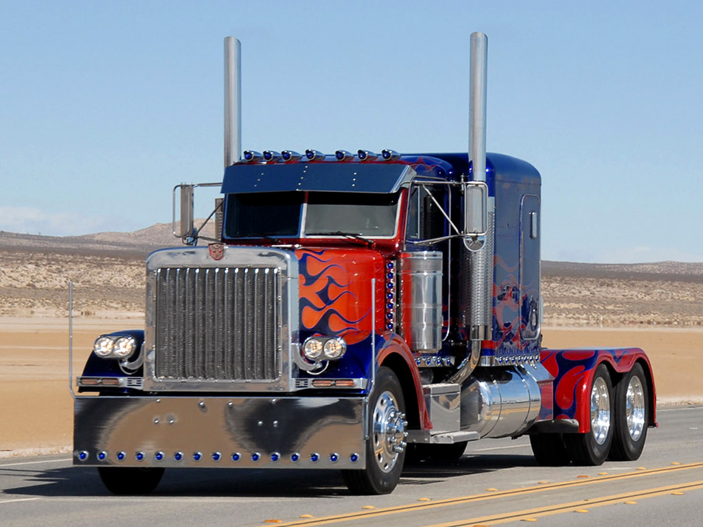 Truckers images Optimus Prime Peterbilt 379 HD wallpaper and background  photos