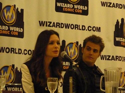 Paul & Torrey / Wizard World Comic Con Toronto (14.04.12)