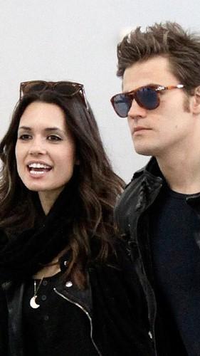 Paul and Torrey arriving at Toronto Airport (April 14th, 2012)