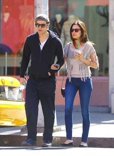 Paul and Torrey in New York (17.04.12)