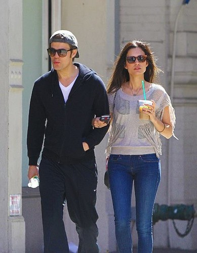 Paul and Torrey in New York (17.04.12)